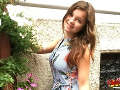 GERMAN SCOUT - ANAL FICK BEI CASTING FUER 18 JAHRE TEEN